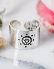 Throat Chakra Ring (1 Left)