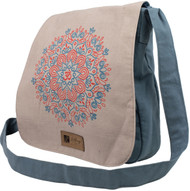 Flower Mandala Messenger Bag