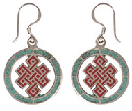 Endless Knot Earrings 40% Off