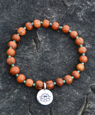 Woodsy Lotus Bracelet