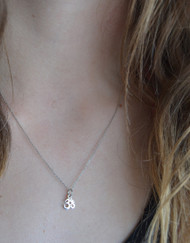 Peaceful Om Necklace