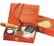 Golden Bodhi Travel Altar Box