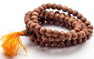 Tibetan Sandalwood Mala Necklace