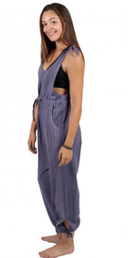 Sugaree Striped Jumpsuit (1 Left)