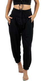 Organic Althea Joggers ~ Black~