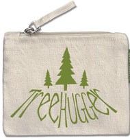 Tree Hugger Small Zipper Pouch