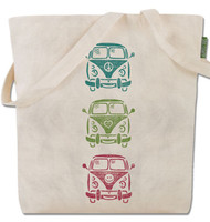 Hippie Bus Tote Bag