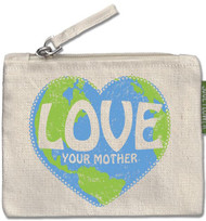 Love Your Mother Small Zipper Pouch