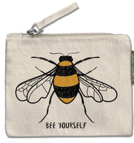 Bee Yourself Small Zipper Pouch