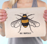 Bee Yourself Large Pouch