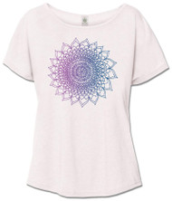 Thousand Petal Lotus Slouch Tee