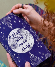 Stay Wild Moon Child Notebook