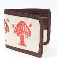 Mushroom Bi Fold Wallet