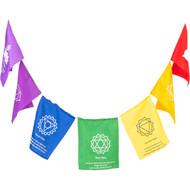Seven Chakra Healing Flags