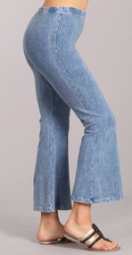 Cropped Woodstock Bells *Light Denim*