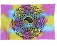 Tie Dye Yin Yang Tapestry