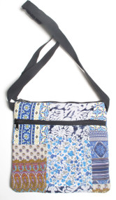 Blue Skies Patchwork Bag