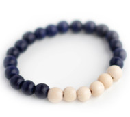 Kids: Blueberry Beaded Bracelet