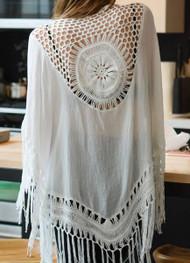 Crochet Mandala Kimono