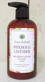 Patchouli Lavender Lotion