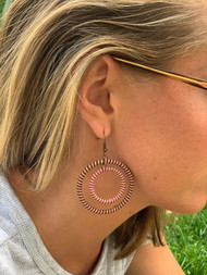Desert Hoop Earrings