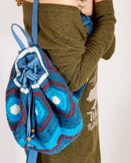 Cassidy Crocheted Mini Backpack