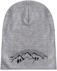 Eco Beanie: Mountain Range