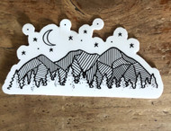 Luna Mountain Sticker