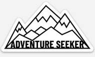 Sticker: Adventure Seeker