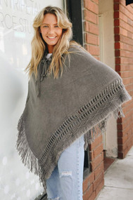 Peace Poncho (4 Colors)