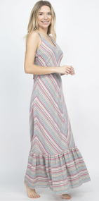 Festival Striped Dress