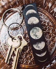 Moon Phase Key Chain