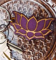 Lotus Key Chain