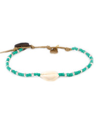 Turquoise Cowrie Shell Bracelet