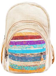 Handwoven Hemp Backpack