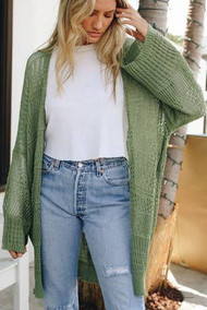 Nellie Knit Netted Cardigan