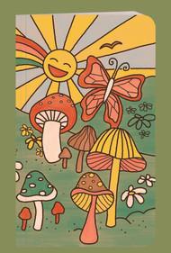 Happy Mushrooms Notebook