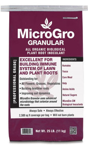 Builds immune system of lawn and plant roots.