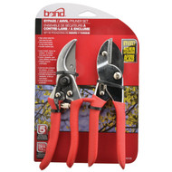 "2 PC PRUNER SET 8"" BYPASS/ANVIL"