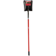 Long Handle Fiberglass Square Point Shovel