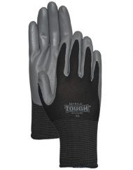 LFS Gloves (Large)  NITRILE TOUGH® 3700 BLACK (12)