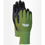 LFS Gloves 5371 (Medium) BAMBOO GARDENER WITH NITRILE (12)