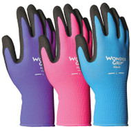LFS Gloves (Large) WONDER GRIP NICELY NIMBLE ASSORTED COLORS (12)