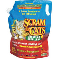 3.5 LB Scram for Cats Shaker Bag