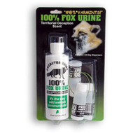 100% Real Fox Urine Combo 8 oz with 3 Dispensers