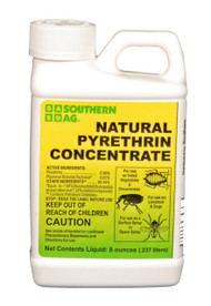 NATURAL PYRETHRIN CONC. 8 OZ.