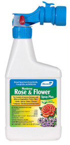 Rose and Flower Spray Plus 16 oz. Hose End