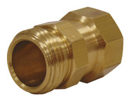 Brass Hose Swivel 3/4 in. Male to 3/4 in. Female