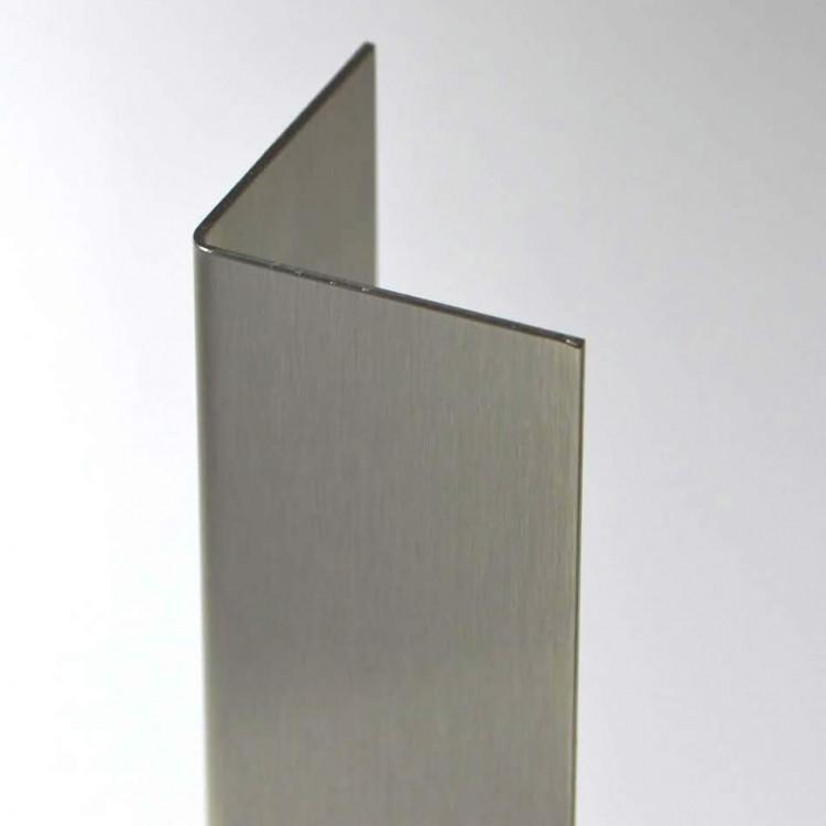 "Stainless Steel Corner Guard 3//4/"" x 3//4/"" x 60/"""