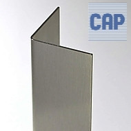 "3 1/2"" x 3 1/2"" x 96"" Stainless Steel Corner Guard"